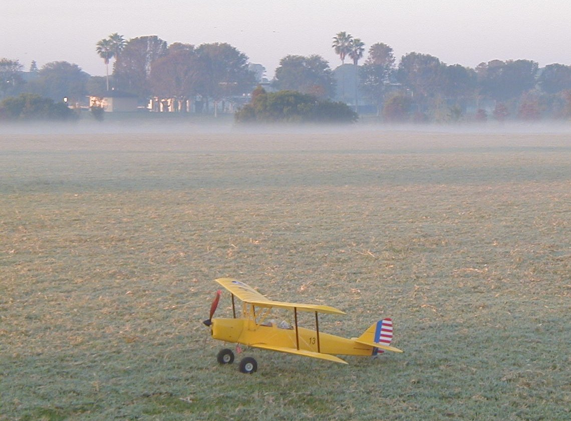 The Tigermoth - Ready for Dawn Patrol.